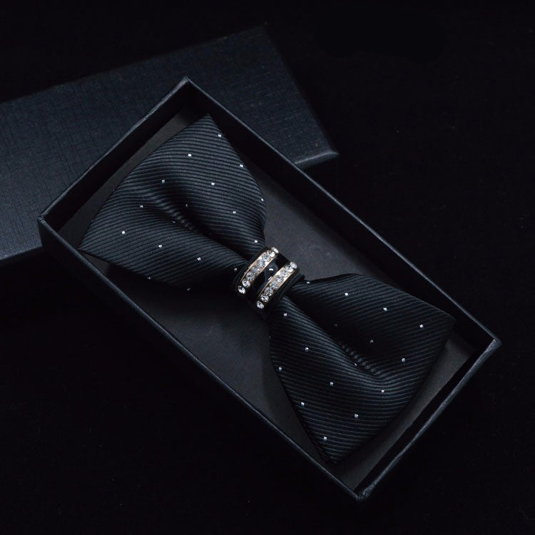 Tuxedo Crystal Bow Tie for Men (7 colours) - Be the Boss