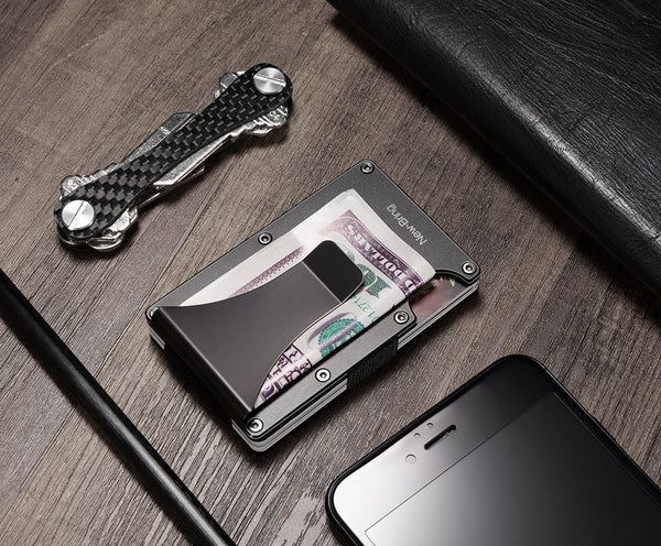 Ultra light Durable RFID Credit Card Holder Wallet Money Clip (3 colours) - Be the Boss