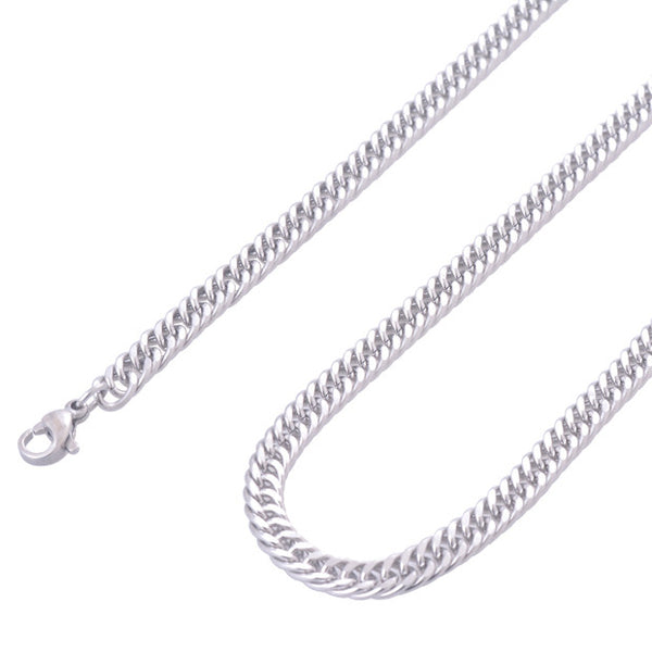 Stainless Steel Silver Chain Men's Necklace (4 sizes) - Be the Boss