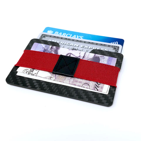 Credit Card Holder Carbon Fiber Money Clip with RFID Anti-Theft Protection - Be the Boss
