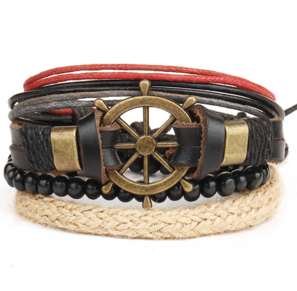 Handmade Handwheel Multilayer Beaded Wrap Bracelets - Be the Boss
