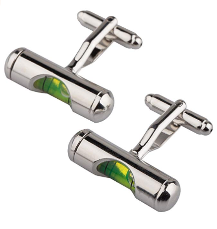 Novelty Formal Fashion Cufflinks - Be the Boss