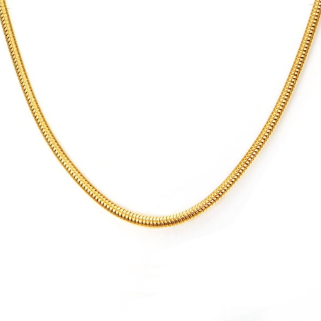 3mm High Quality Gold Stainless Steel Chain Men's Necklace - Be the Boss