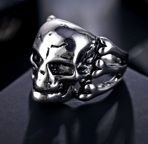 Punk Style Stainless Steel Skull Gothic Ring - Be the Boss