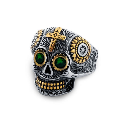 Gothic Style Stainless Steel Skull Ring - Be the Boss