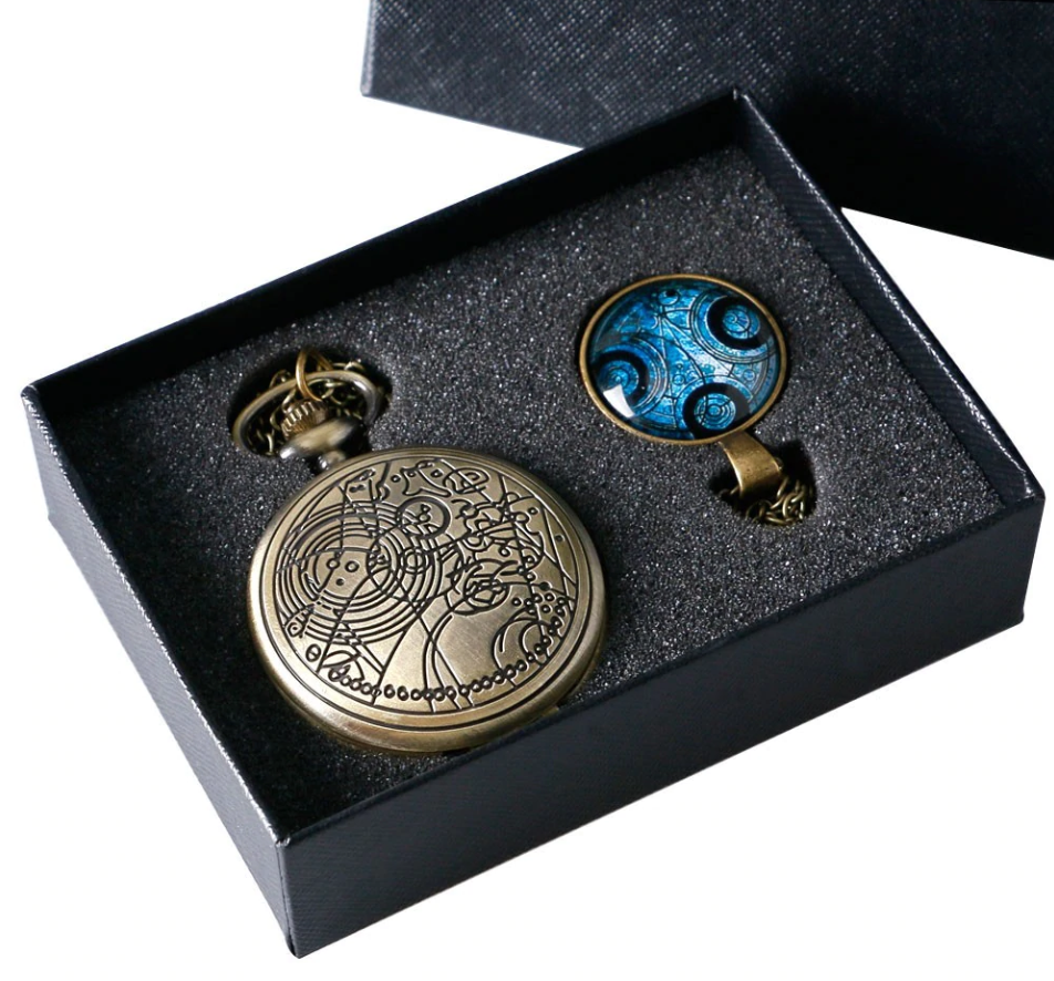 Doctor Who Pocket Watch with a gift box - Be the Boss