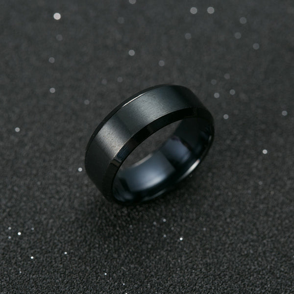 Stainless Steel Ring (3 colours) - Be the Boss