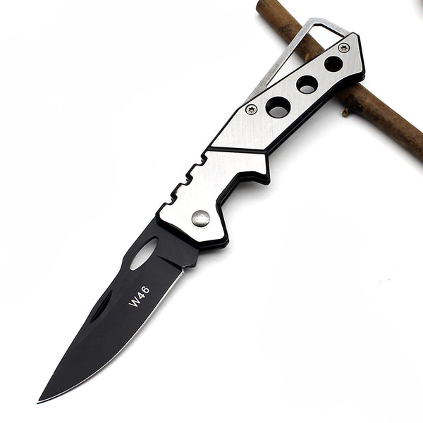 Rescue Stainless Handle Survival Folding Hunting Tactical Knife - Be the Boss