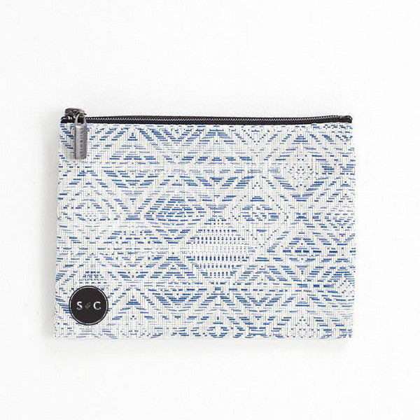 Mosaic Medium Zip Pouch - Sahara and Co
