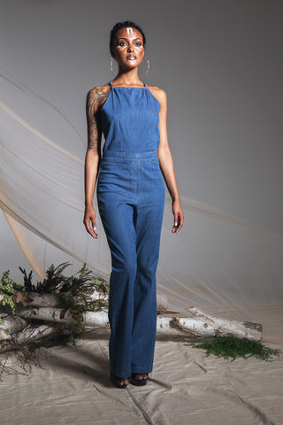 Cleo Denim Jumpsuit