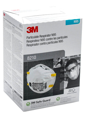 N-95 Particle Respirator Masks (5 Pack) - 3M Brand