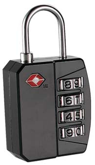 4-Dial TSA Combination Lock