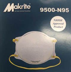 N-95 Particle Respirator Masks (5 Pack)