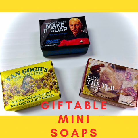 Unique Mini Soaps