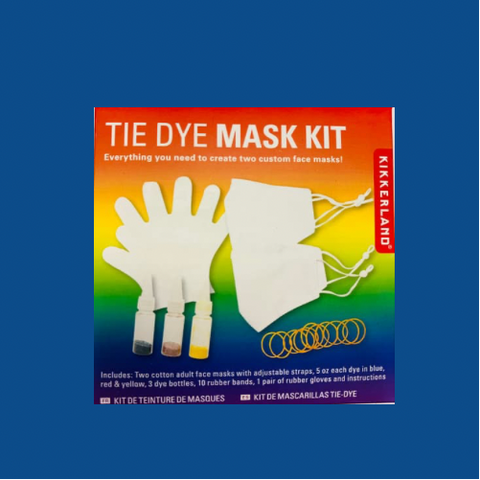 Tie Dye Mask Kit - 2 Pack