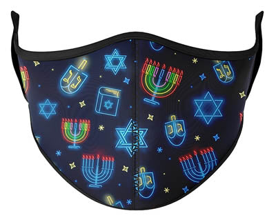 Hanukkah Adult Face Mask (3 Pack)