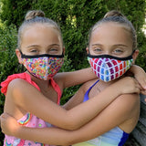 Assorted Kid's Double-Layer Mask (4 Pack)