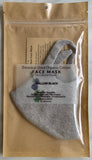 Organic Cotton Face Mask - Large Size (Botanically Dyed)