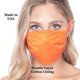 Tricot Double-Layer Fabric Mask