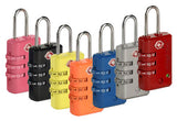 3-Dial TSA Combination Lock