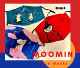 Moomin Face Mask - 3 Pack