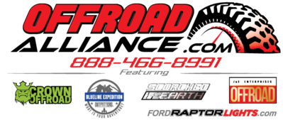 Ford Raptor Lights is now Offroad Alliance!