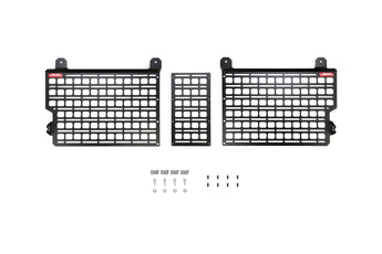 BuiltRight Bedside Rack System - Front Panel (3 Pc Kit) - 2020 Jeep Gladiator
