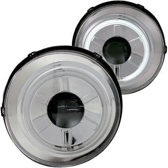 Anzo Projector Headlight Set w/Halo - 2007-2013 Toyota FJ Cruiser