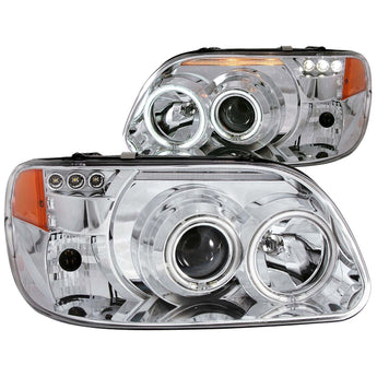 Anzo Projector Headlight Set w/Halo - 1995-2001 Ford Explorer
