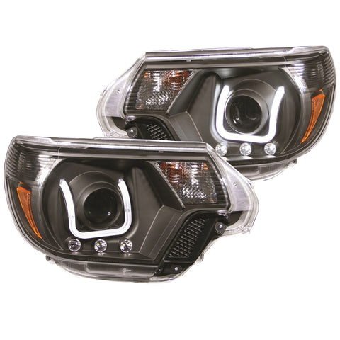 Anzo Projector Headlight Set - 2012-2015 Toyota Tacoma