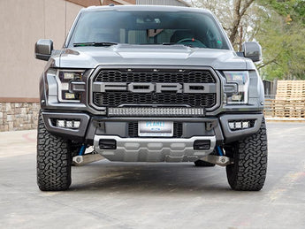 N-Fab 2017+ Raptor Fog Light Brackets for Light Bar with Multi-Mount