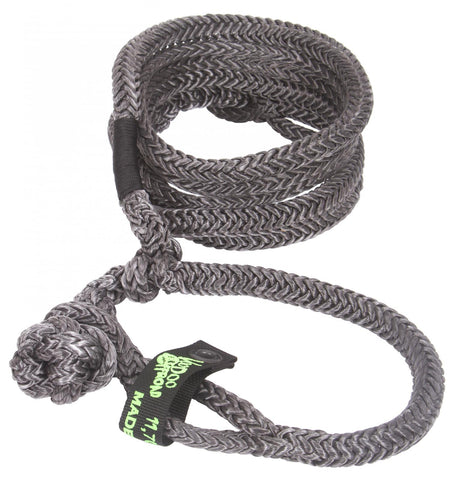 VooDoo Offroad UTV Kinetic Recovery Rope - 1/2 Inch x 10-20 Foot W/2 Soft Shackle Ends