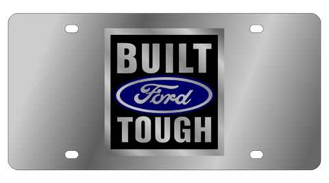 Eurosport Daytona - Steel License Plate - Built Ford Tough