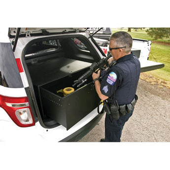 "Tuffy Security Tactical Gear Security Drawer 40 W x 36 L x 16"" H - 2011-2018 Explorer, Durango, Police Interceptor"