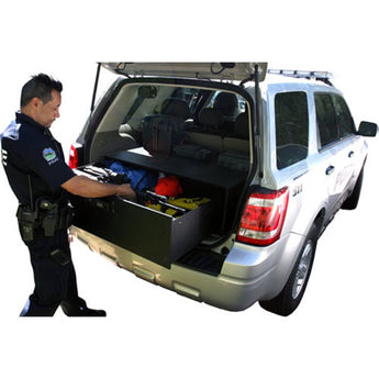 "Tuffy Security Tactical Gear Security Drawer 45 W x 39 L x 16"" H - 1998-2013 Durango, Acadia, Explorer"