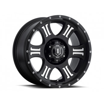 "Icon Alloys, 17"" Shield Wheels"