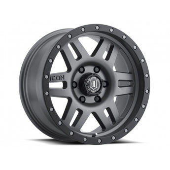 "Icon Alloys - 17"" Six Speed Wheels"