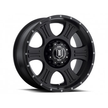 "Icon Alloys 20"" Shield Wheels"