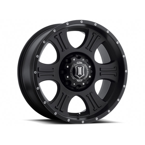 "Icon Alloys, 20"" Shield Wheels"