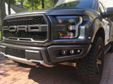 "Offroad Alliance Triple Bezel Fog Kit  (No 3"" Cube Lights) - 2017+ Raptor"