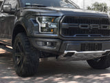 Offroad Alliance - Dual Bezel Fog Light Kit w/ Baja Designs Squadron Pro Lights - 2017-2020 Raptor