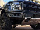 Offroad Alliance - Dual Bezel Fog Light Kit w/ KC Hilites C-Series C3 Lights - 2017-2020 Raptor