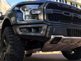 Offroad Alliance Dual Bezel Fog Light Kit w/ Baja Designs Squadron Racer Cube Lights - 2017+ Raptor