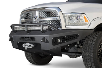 ADD HoneyBadger Front Bumper w/ Winch Mounts - 2010-2019 Ram 2500/3500