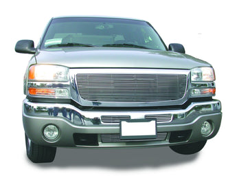 T-REX Billet Series, Insert Grilles - Polished - Requires Drilling or Cutting - 2003-2006 GMC 1500