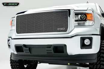T-REX Billet Series, 1 Piece Insert Grilles - Requires Drilling or Cutting - 2014-2015 GMC 1500