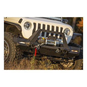 ARIES TrailChaser Front Bumper w/ Fender Flares - 2018+ Jeep JL