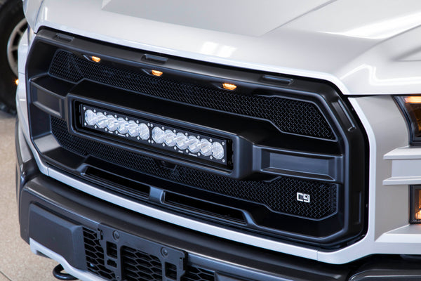 Caliber9 Raptor Grille & Light - 2017-2020 Ford Raptor