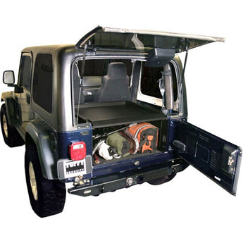 Tuffy Security Deck Enclosure - Black - Jeep TJ
