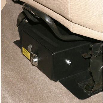 Tuffy Security Conceal Carry Security Drawer (With Flip Seat) - 1997-2006 Jeep TJ